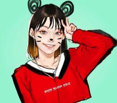 Female Character Design, Character Concept, Character Art, Concept Art, Korean Art, Comics Girls, Art Studies, Illustrations And Posters, Comic Artist