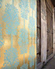 Monaco | Papier peint des années 70