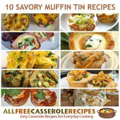 10 Savory Muffin Tin Recipes