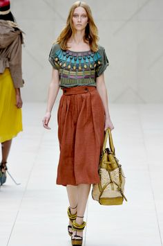I like so much about this...Burberry Prorsum.