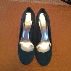 Take Home These Blue Suede Shoes!