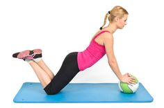 Medicine ball push ups #training #fitness #workout