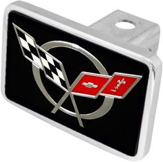 C5 Corvette Logo XL Hitchplug