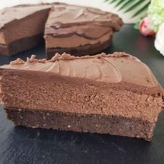 Low-Carb & Keto Tripple Chocolate Cake