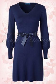 Lien&Giel Elin Dress in Blue 102 30 15791 06152015 02a