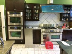 New Jenn-Air appliances in our Basil Kitchen. Check them out in an upcoming class at The Chopping Block.
