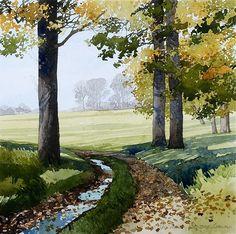 Ian Sidaway (British, 1951-) > Lostwithiel Cornwall