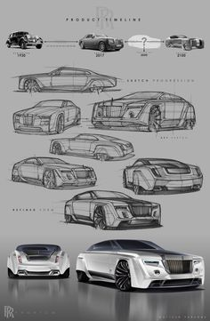 2050 Rolls-Royce Phantom Redesign