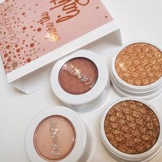 """""""So proud of @kathleenlights on her Amazing shadows in collaboration with @colourpopcosmetics these are seriously the perfect colors! Can't wait to use…"""""""