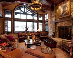 Traditional Living Room Exposed Beams Design, Pictures, Remodel, Decor and Ideas - page 200