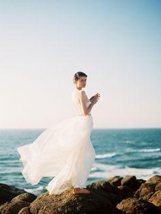 Ethereal Seaside Wedding Ideas - Once Wed