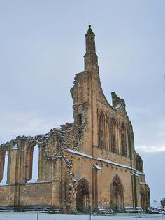 Byland in the Snow 004 by The Church Collector, via Flickr