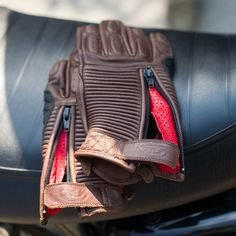 Roland Sands Diesel Glove, Tobacco