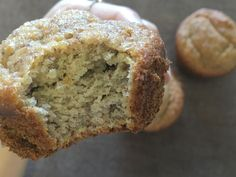 So, it's been a while since I last shared a recipe with you guys. But I'm coming back with one of my favorite recipes of all time: Minimalist Baker's Banana Almond Meal Muffins. Vegan Banana Muffins, Banana Bread, My Favorite Food, Favorite Recipes, My Favorite Things, Almond Recipes, Baking Recipes, Gluten Free Diet, Dairy Free