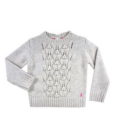 Look at this #zulilyfind! Cream Puff Wool-Blend Sweater - Toddler & Girls by Joules #zulilyfinds