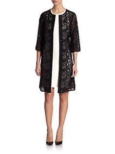St. John - Floral Lace Jacket