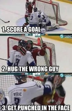 Funny pictures about Hockey step by step. Oh, and cool pics about Hockey step by step. Also, Hockey step by step. Lol, Haha Funny, Funny Shit, Funny Stuff, Freaking Hilarious, Funny Memes, Funny Hockey Memes, Farts Funny, Funny Man