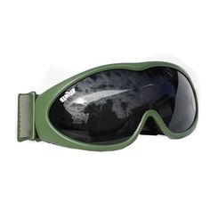 Global GXG Deluxe Airsoft Bubble Goggles OD Olive Frames with Smoke Polycarbonate Lens