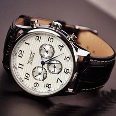 Stan Vintage Watches   Mens Watch Leather (WAT0103-WHITE)