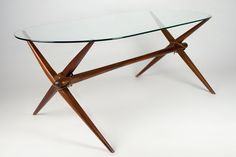 Well-chosen coffee table can take up one of the paramount roles in the room. Some people regard coffee tables place for decorative fixtures and newspapers, Loft Furniture, Furniture Design, Furniture Ideas, Coffe Table Design, Oval Coffee Tables, Italian Coffee, Glass, Beautiful, Home Decor