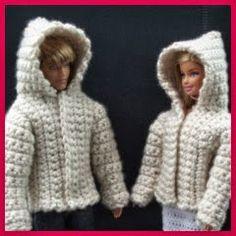 Patrones para ropa a crochet para todo tipo de muñecos (Barbie, bebés, Nancy, etc) totalmente gratuitos.