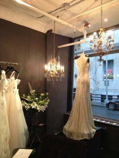 Elvina Gown + Store Interior // @Karen Jacot Willis Holmes #NYC #bridal #KWH #karenwillisholmes