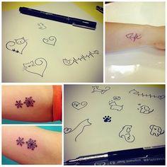 tatuagem eu amo gatos - Pesquisa Google