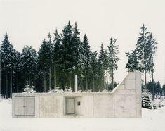 Hut on Fichtelberg mountain /  AFF Architekten - Tellerhäuser, Germany