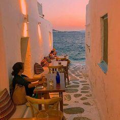 Ode to the sea ⛵~ Mykonos, Greece    Photo: @npsideris     #mykonos #greece