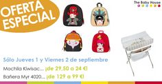 ¡SÓLO EL JUEVES 1 Y EL VIERNES 2 DE SEPTIEMBRE! Dos nuevas fantásticas ofertas en nuestra tienda de bebés de Sevilla.