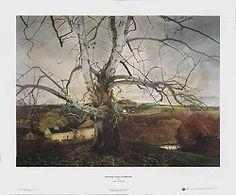 1404c89c5c0 Pennsylvania Landscape Art Print by Andrew Wyeth - Brandywine Museum Shop