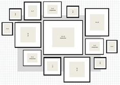 From Heart Tree Home blog: She uses IKEA frames and creates a wall gallery, step by step. Description from pinterest.com. I searched for this on bing.com/images