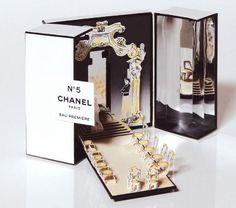 Chanel No. 5 fragrance sampler PD: