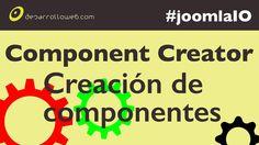 Un vídeo en el que nos introducirnos en el desarrollo de las extensiones más complejas para Joomla, los componentes: http://www.desarrolloweb.com/en-directo/programacion-joomla-component-creator-joomlaio-8849.html