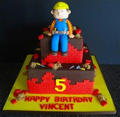 Bob The Builder Birthday Cakes Images