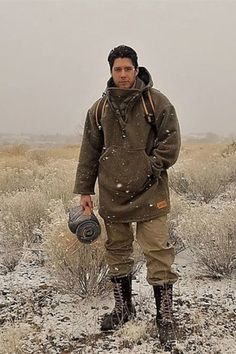 Outdoor Outfit, Suspenders, Canada Goose Jackets, Winter Jackets, Mens Fashion, Wool, My Style, How To Wear, Bushcraft Skills