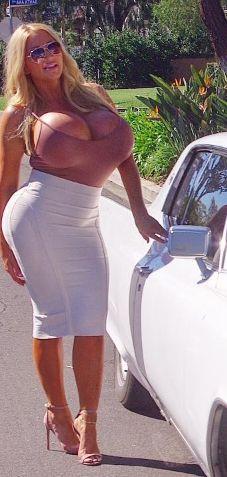 Bikini big boobs milk in ass