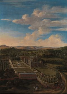 Figure 1: Jan Siberechts, Wollaton Hall and Park, Nottinghamshire, 1697, Oil on canvas, Yale Center for British Art, Paul Mellon Collection Infinite Art, A4 Poster, Poster Prints, Baroque Painting, Google Art Project, English Artists, Vintage Artwork, Art Google, Landscape Paintings