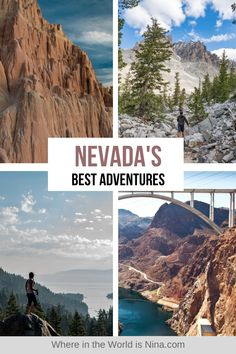 There is so much more to see in Nevada other than Vegas, in fact this state is home to some of the most bizarre-looking and mesmerizing scenery you can find anywhere in the world. Home to dusty deserts, dramatic rock formations, alien landscapes, insane lakes, intriguing ghost towns and more - Nevada is the perfect state to do a USA Road Trip. Find out the best adventures to have on a Nevada Road Trip.   Where in the World is Nina? #nevadaroadtrip #nevada #usaroadtrip