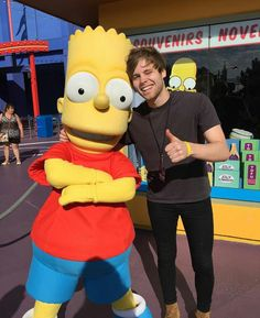 Luke Hemmings<<<and Bart Simpson... Can't give Luke all of the attention... Jk