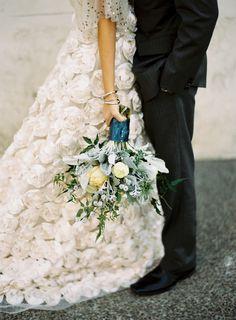 dustjacket attic: Wedding Inspiration | Shades Of Winter