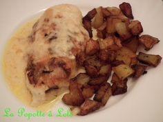 Recette trouvée sur le blog de Mu 400 g de filets ou escalopes de poulet 150 g d'eau 200 g de crème fraîche fluide 1 càs d'oignons frits 1 càc de bouillon en poudre 1 càc de Paprika doux 1 pincée de poivre de cayenne (facultatif) 15 g de farine Sel/Poivre...