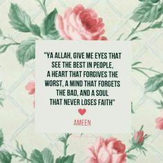 Beautiful! AMEEN!   #dua #Islam #beautiful