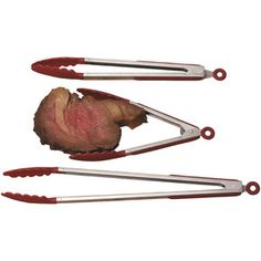 3-Piece Stainless Steel Serving Tong Set