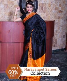b26ccda21234d On All Narayanpet Sarees Collection With UPTO 60% OFF  royalsari  banarasi   handloomsarees
