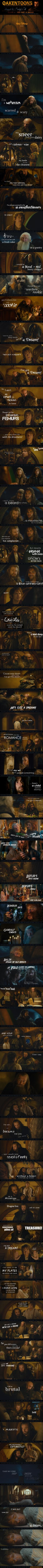 The Hobbit meets Disney's Tangled. He's got a dream!