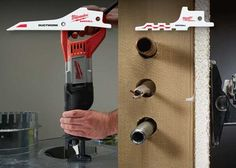 New Drywall and Ductwork Blades for Your SAWZALL