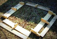 Pallet raised beds- awesome!  Totally doing this for this year's garden.  Guess I should get started now.