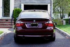 Maroon BMW