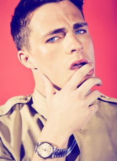 COLTON HAYNES ! HE IS SO COOL IT HAS TO KISS YOU JUST !